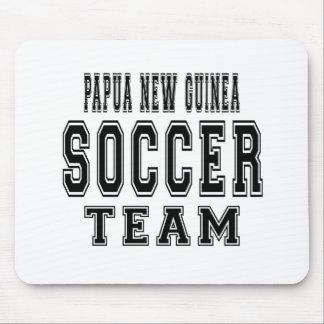 Papua New Guinea Soccer Team Mouse Pad