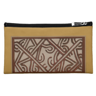 Papua New Guinea Sueded Cosmetic Bag