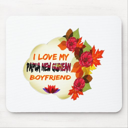 Papua New Guinean Boyfriend Design Mouse Pads