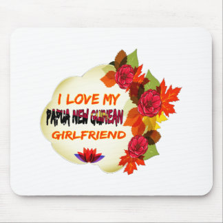 Papua New Guinean Girlfriend designs Mouse Pad