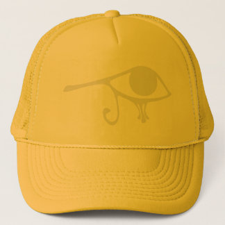 Papyrus Eye of Horus Trucker Hat