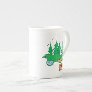 Par 3 porcelain mugs