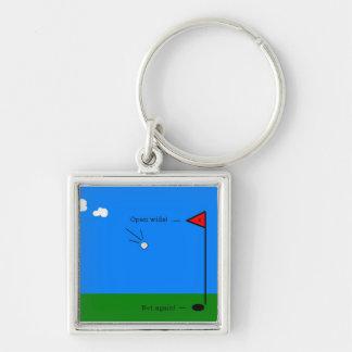 Par 4 Logo Keychain