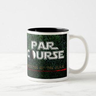 PAR COURSE revenge of the slice mugs! Two-Tone Mug