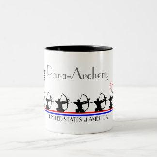 Para-Archery-USA Two-Tone Mug
