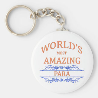 Para Basic Round Button Key Ring