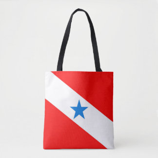 Para Brazil flag province region symbol Tote Bag