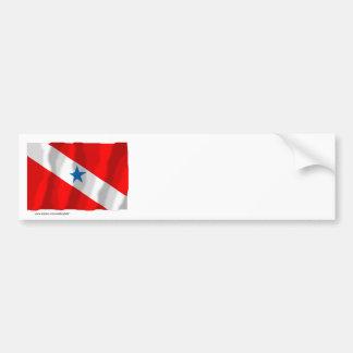 Pará, Brazil Waving Flag Bumper Sticker