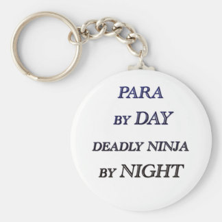 PARA BY DAY BASIC ROUND BUTTON KEY RING