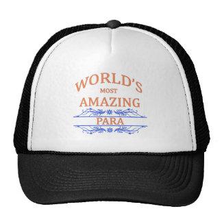 Para Trucker Hats