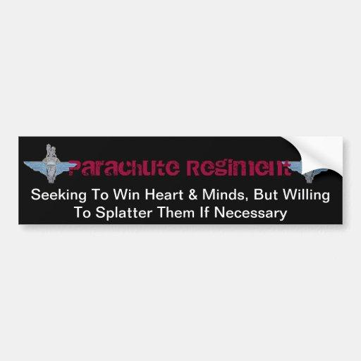 PARA-hearts and minds Bumper Sticker