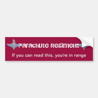 PARA-range Bumper Sticker