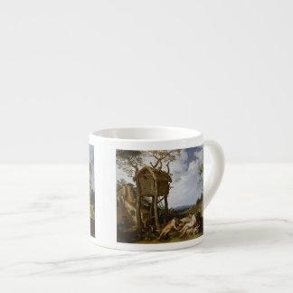 Parable of Wheat, Tares - Abraham Bloemaert (1624) Espresso Mug