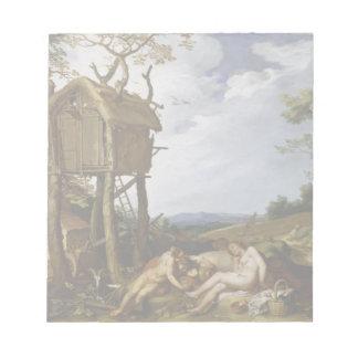 Parable of Wheat, Tares - Abraham Bloemaert (1624) Notepad