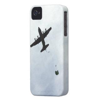 Parachute Drop EC-130H Compass Call iPhone 4 Covers