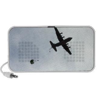 Parachute Drop EC-130H Compass Call Travelling Speaker