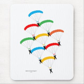 Parachute Formation Mouse Mat