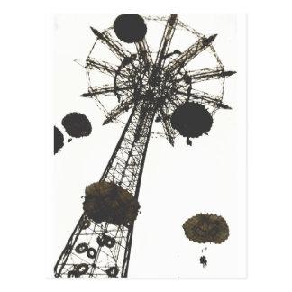 Parachute Ride Postcards
