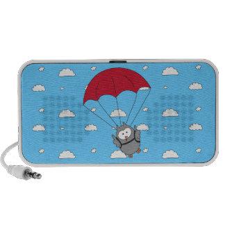 Parachuter Hooter Mp3 Speaker