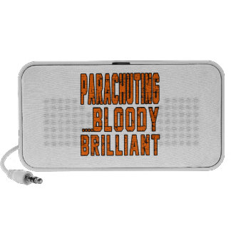 Parachuting Bloody Brilliant Portable Speaker