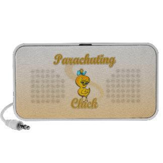 Parachuting Chick iPod Speaker