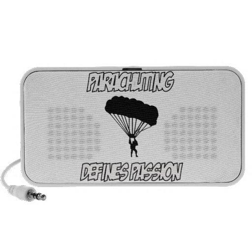 parachuting designs laptop speakers