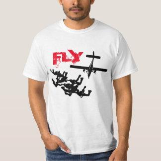 Parachuting FLY Shirts