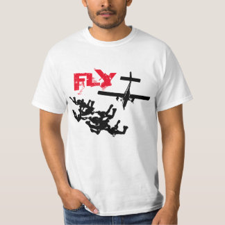 Parachuting FLY T-Shirt