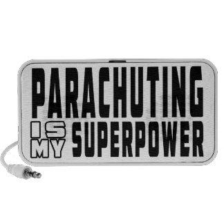 Parachuting is my superpower notebook speaker