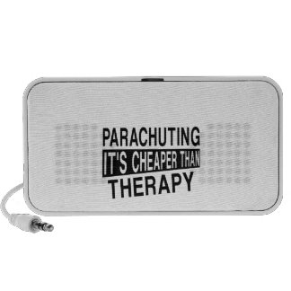 PARACHUTING It Is Cheaper Than Therapy PC Speakers