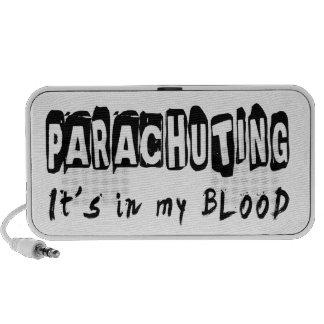 Parachuting It s in my blood Mini Speakers