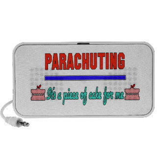 Parachuting It's a piece of cake for me Travel Speaker