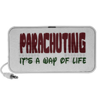Parachuting It's a way of life Speakers