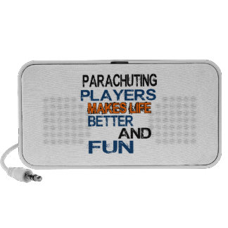 Parachuting Players Makes Life Better And Fun Portable Speakers