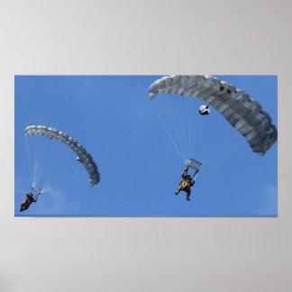 Parachuting Posters