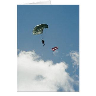 Parachutist Card