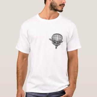 parachutist never tired shirt