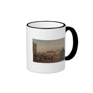 Parade before the royal palace, 1839 mugs