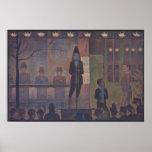 Parade de Cirque by Georges Seurat Poster