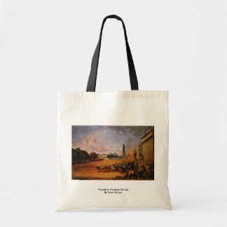 Parade In Potsdam (Study) By Franz Krüger Tote Bags