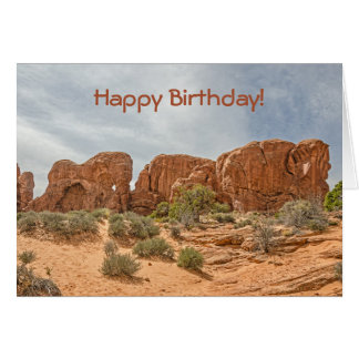 Parade of Elephants - Arches National Park Card