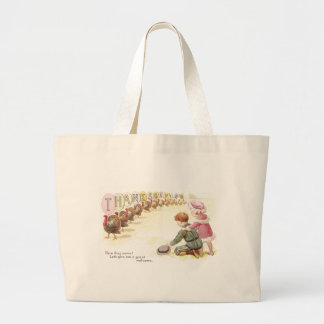 Parade of Turkeys Jumbo Tote Bag
