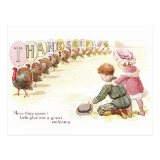 Parade of Turkeys Postcards