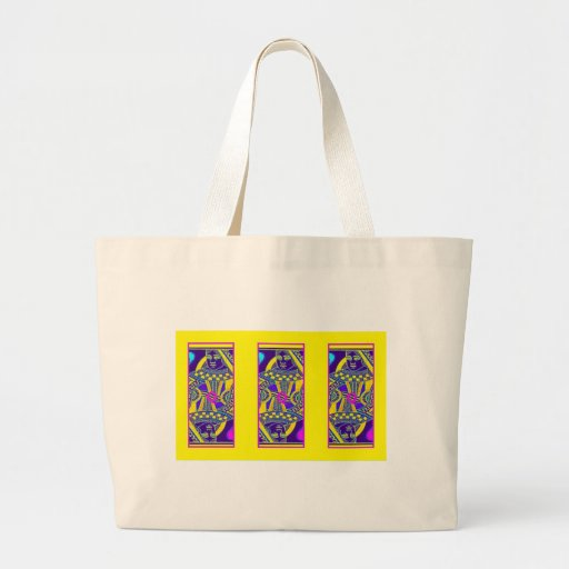 Parade Queen in Yellow By Sharles Canvas Bag