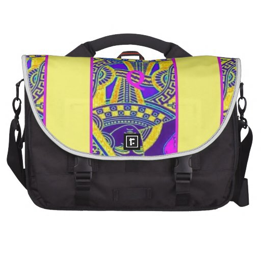 Parade Queen in Yellow By Sharles Laptop Bags
