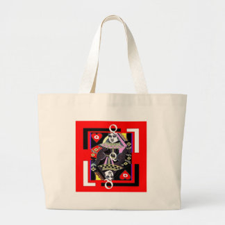 Parade Queen of Hearts by Sharles Canvas Bag