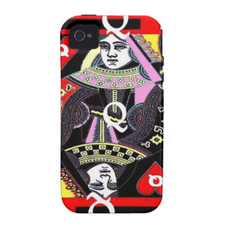 Parade Queen of Hearts by Sharles iPhone 4 Case