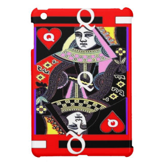 Parade Queen of Hearts by Sharles iPad Mini Cases