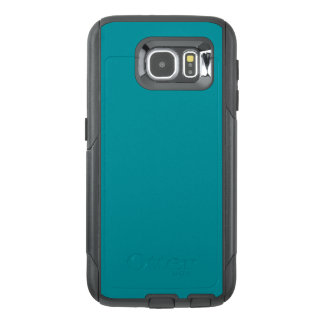 Paradingly Posh Teal Color OtterBox Samsung Galaxy S6 Case