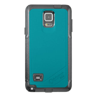 Paradingly Posh Teal Color OtterBox Samsung Note 4 Case